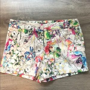 Floral Express shorts